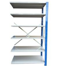 ชั้นวางสต๊อกสินค้า micro rackไมรโครแร็คMi501801806N ลึก500x1800x1800 มม.6ระดับชั้น(ชุดต่อ)