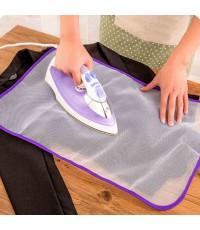 แผ่นรองรีดผ้า ป้องกันผ้าติด ผ้าไหม้ สีสกรีนติด Ironing Cloth Guard Protect รุ่น 000395 (แพ็ค 2 ชิ้น)