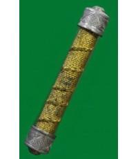 ตะกรุดหุ้มอั่วปี47 ล.ปหงษ์ จารในจารนอก สร้างแค่ 87 ดอก