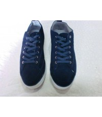 รองเท้าผ้าใบชาย Fitflop ฟิฟฟล๊อฟ ผ้าใบผูกเชือก มาใหม่ค่ะใส่สบายเท้าค่ะสีน้ำเงินเข็ม ขนาด 40-45