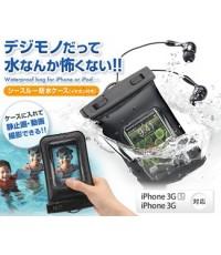 ซองกันน้ำสำหรับไอโฟน กันน้ำเข้าได้ 100.