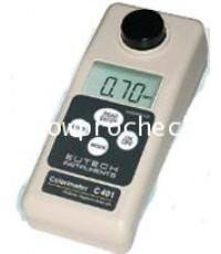 เครื่องวัดค่าคลอรีนทั้งหมดและคลอรีนอิสระและpH  Eutech รุ่น C301*** ยกเลิกการผลิต