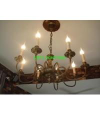 การติดตั้งโคมไฟและพัดลมเพดานหมู่บ้านคอนเนคแบริ่ง  ปี 55