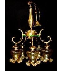 โคมไฟทองเหลือง งานอิตาลี