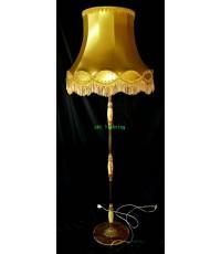 โคมไฟตั้งพื้น โครงทองเหลือง