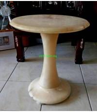 โต๊ะหินอาลาบาสเตอร์  อิตาลี งานยุโรปนำเข้า