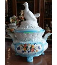 โถข้าว Porcelain  Italian
