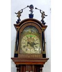 นาฬิกาแขวนผนังโบราณ ฮอลแลนด์ หน้าพระจันทร์ยิ้ม ขายแล้ว