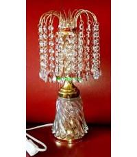 โคมไฟตั้งโต๊ะ คริสตรัล