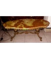 โต๊ะกลาง ท๊อปหินอ่อน อิตาลี งานยุโรปนำเข้า