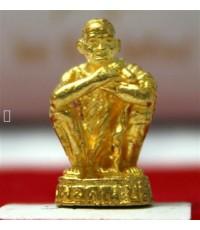 รูปหล่อหลวงพ่อคูณ เนื้อทองคำ รุ่นผู้นำ ปี 2538