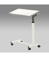 โต๊ะคร่อมเตียง รุ่น YU611 (สีขาว)