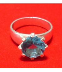แหวนประดับพลอยรัสเซียสีน้ำเงิน