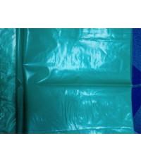 ถุงพลาสติก ถุงขยะ HDPE สีเขียว 30 x 40 นิ้ว ไม่พิมพ์ จำนวน 210 กก