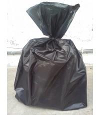 ถุงพลาสติก ถุงขยะ HDPE สีดำ 21 x 21 นิ้ว น้ำหนัก 210 กก
