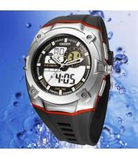 OHSEN – AD0929-4: Dual System Alarm / Chronograph Sports Watch