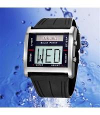 OHSEN – 0831-1 : Dual System Alarm / Chronograph Sports Watch