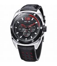WEIDE WH3306-3 Men Sports Watch [Black-Red]