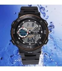 OHSEN – AD1312-1: Dual System Alarm / Chronograph Sports Watch