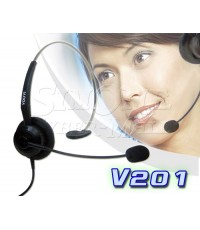 V201 HEADSET FOR LANDLINE TELEPHONE  CALL CENTER