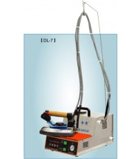 เตารีดไอน้ำอุตสาหกรรม รุ่น DL-7 ระบบเติมน้ำอัตโนมัติ รีดผ้าได้ต่อเนื่องทั่งวัน เหมาะสำหรับร้านซัก