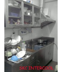 อุปกรณ์ภายในครัว ทำจากสแตนเลสครบชุด