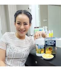 Healthway Royal Jelly 1200 mg นมผึ้งโดสเข้มข้นในตลาดนมผึ้งซอฟเจล ไม่อ้วน ไม่ผสมน้ำมัน ขนาด 365 เม็ด