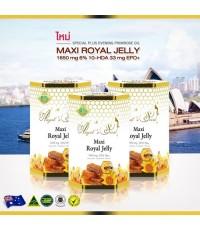 Angel's Secret Maxi royal jelly 1,650mg. นมผึ้งสกัดเย็น ทานแล้วไม่อ้วน ผิวสวย สุขภาพดี จากออสเตรเลีย