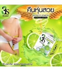 (3 กล่อง) 3S เครื่องดื่มรสน้ำผึ้งมะนาวผสมคอลลาเจน อิ่มง่าย ลดการอยากอาหาร เร่งเผาผลาญ พุงยุบ เพียวกร