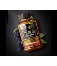 (30 เม็ด) GO Healthy Grape Seed 60000mg  ผิวขาวกระจ่างใสด้วยสารสกัดเมล็ดองุ่น จากนิวซีแลนด์