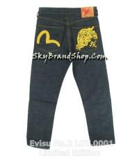 กางเกงยีนส์ Evisu No.2 LOT.0001 Limited Edition Heritage Golden Tiger Jeans Original ของหมด