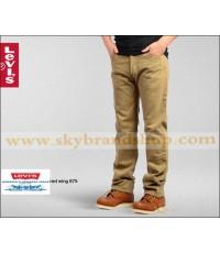 กางเกงยีนส์ Levis 501 New 2012 Straight Jeans Original Khaki ไซต์ 30 ถึง 42 คลิก..