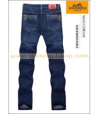 กางเกงยีนส์ Hermes Paris New Business Casual Men\'s Jeans Straight Leg ไซต์ 29 ถึง 42 คลิก..