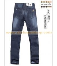กางเกงยีนส์ Burberry London New Business Casual Men\'s Jeans Straight Leg ไซต์ 29 ถึง 42 คลิก..