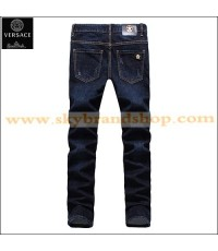 กางเกงยีนส์ Versace New Italy Casual Pants Denim Original Straight Leg ไซต์ 28 ถึง 40 คลิก..