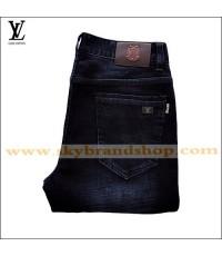 กางเกงยีนส์ Louis Vuitton Jeans New France Denim Straight-Leg Jeans Figure ไซต์ 29 ถึง 42 คลิก