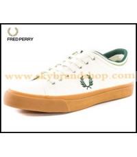 รองเท้า Fred Perry Kendrick Tipped Curr Canvas Trainer Denim Original ไซต์ 41-46 คลิก..