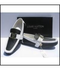 รองเท้า LV. Casual New Veins Leather Loafers Shoes Figure [บุรุษ] Eur 39 ถึง 47 คลิก..