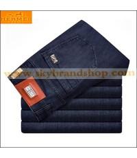 กางเกงยีนส์ Hermes Paris New Business Casual Men\'s Jeans Straight Leg Figure ไซต์ 29 ถึง 42 คลิก..