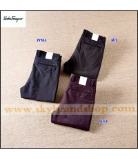 กางเกงทำงาน Ferragamo Business Gentleman Casual Pants Trousers Straight type มี 3 สี 29 ถึง 42..