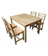 ชุดโต๊ะอาหารเดนเวอร์ 4 ที่นั่ง