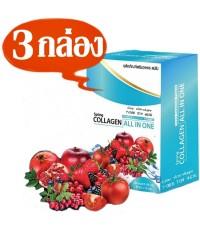 สปริง คอลลาเจน ออลอินวัน Spring Collagen All in One ซ่อมแซมผิวเสียให้เป็นผิวสวย 3กล่องๆละ330เป็น990บ