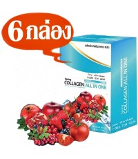 สปริง คอลลาเจน ออลอินวัน Spring Collagen All in Oneซ่อมแซมผิวเสียให้เป็นผิวสวย 6กล่องๆละ310เป็น1860บ