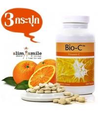 Bio-C ไบโอ-ซี เพิ่มระบบภูมิคุ้มกันในร่างกาย ลดความเป็นพิษ 3 กระปุกๆละ 650 เป็นเงิน 1950 บาท