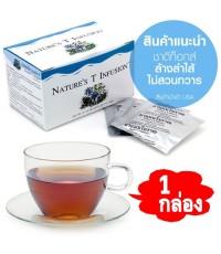 เนเจอร์ส ที  Nature\'s Teaชาสมุนไพรล้างสารพิษในผนังลำไส้ เนเจอร์ส ที กล่องละ 590 บาท