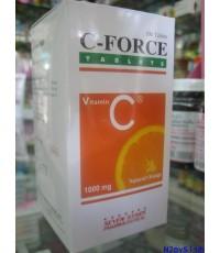C-FORCE วิตามินซี 1000 มก. สกัดจากธรรมชาติ 100 เม็ด