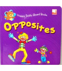 Happy Teddy Board Book Opposites