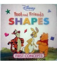หนังสือเด็กบอร์ดบุ๊ค Pooh and Friends SHAPE