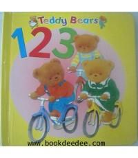 หนังสือเด็กบอร์ดบุ๊ค Teddy Bears 123