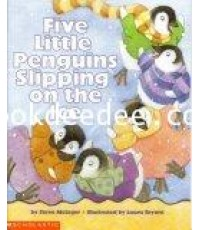 หนังสือเด็ก Five little penguins slipping on the ice